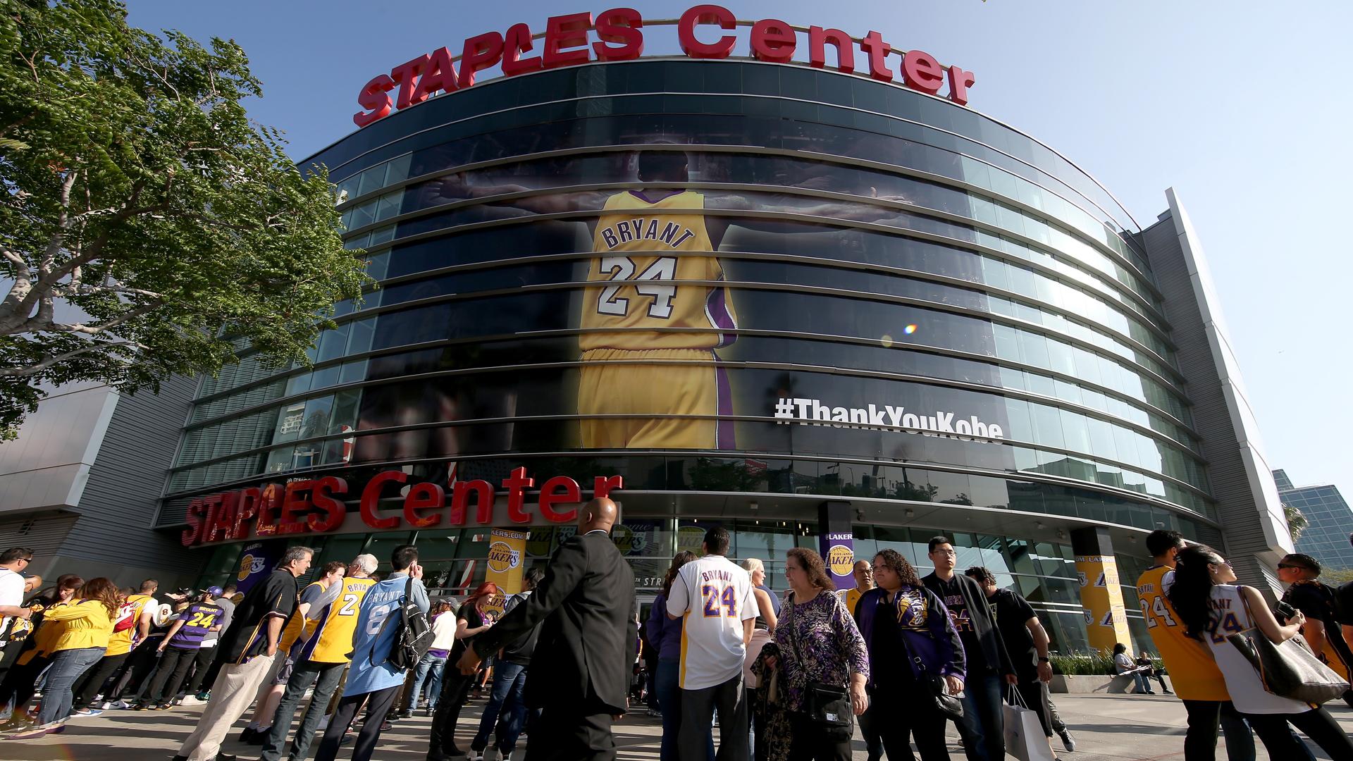 Staples Center 13042016