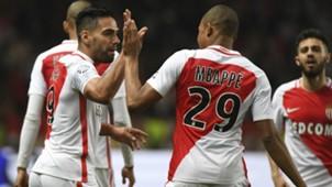 Radamel Falcao Kylian Mbappe Monaco Lille Ligue 1 14052017