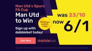 Dabblebet Man Utd vs Spurs offer