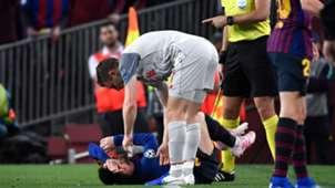 James Milner Lionel Messi - Barcelona Liverpool