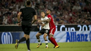 Phlippe Coutinho, Corentin Tolisso, Audi Cup 2017, Liverpool - Bayern München, 02082017