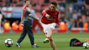 Mesut Ozil Arsenal Manchester City Premier League 02042017