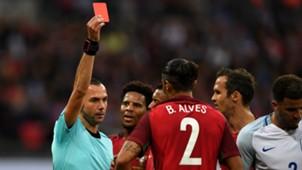 Bruno Alves Harry Kane Portugal England Friendly 06022016