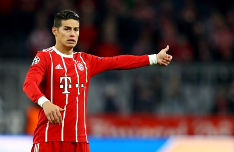 James Rodríguez Bayern Munich vs Anderlecht Champions League