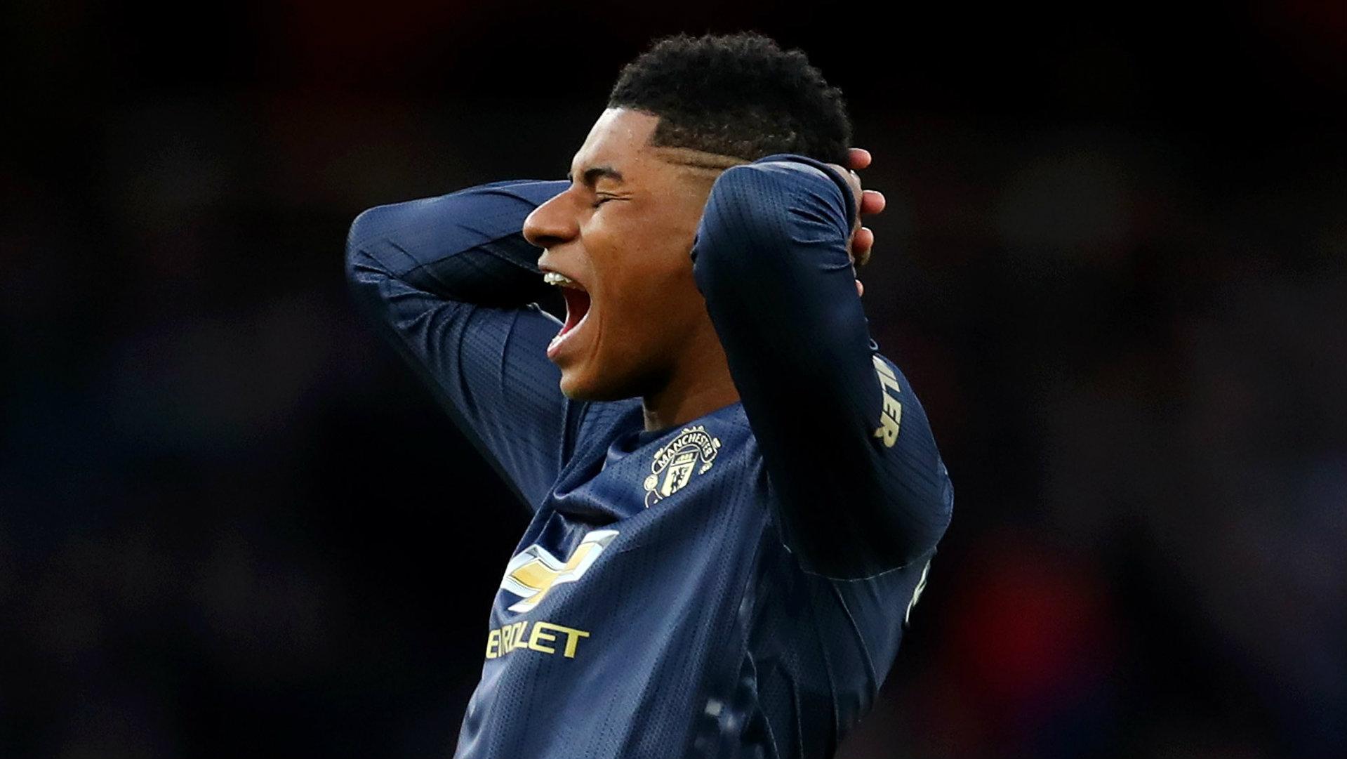 Marcus Rashford Arsenal vs Man Utd 2018-19