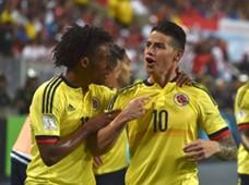 Colombia James Rodriguez Juan Cuadrado