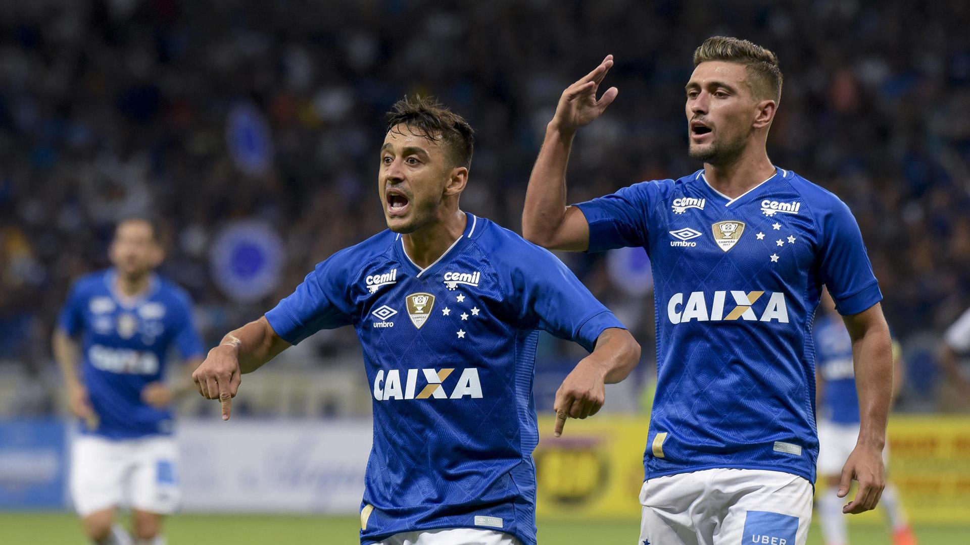 Robinho Arrascaeta Cruzeiro Tupi Mineiro 17012018