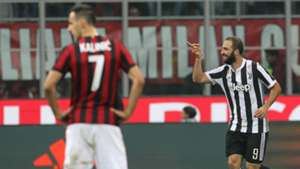 Gonzalo Higuain Milan Juventus Serie A