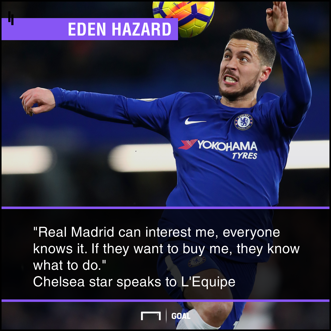 Eden Hazard Real Madrid know what to do