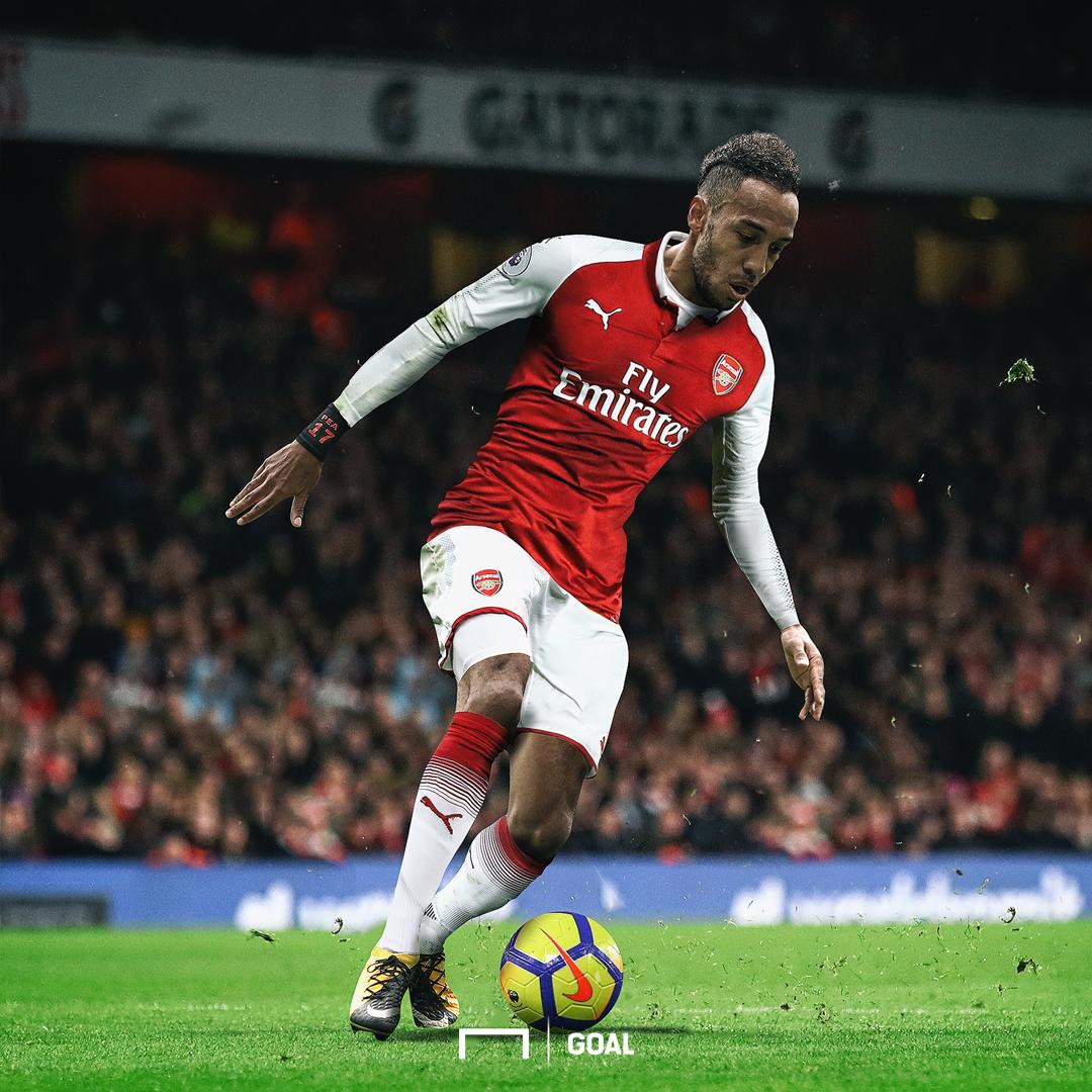 EMBED ONLY Pierre-Emerick Aubameyang Arsenal