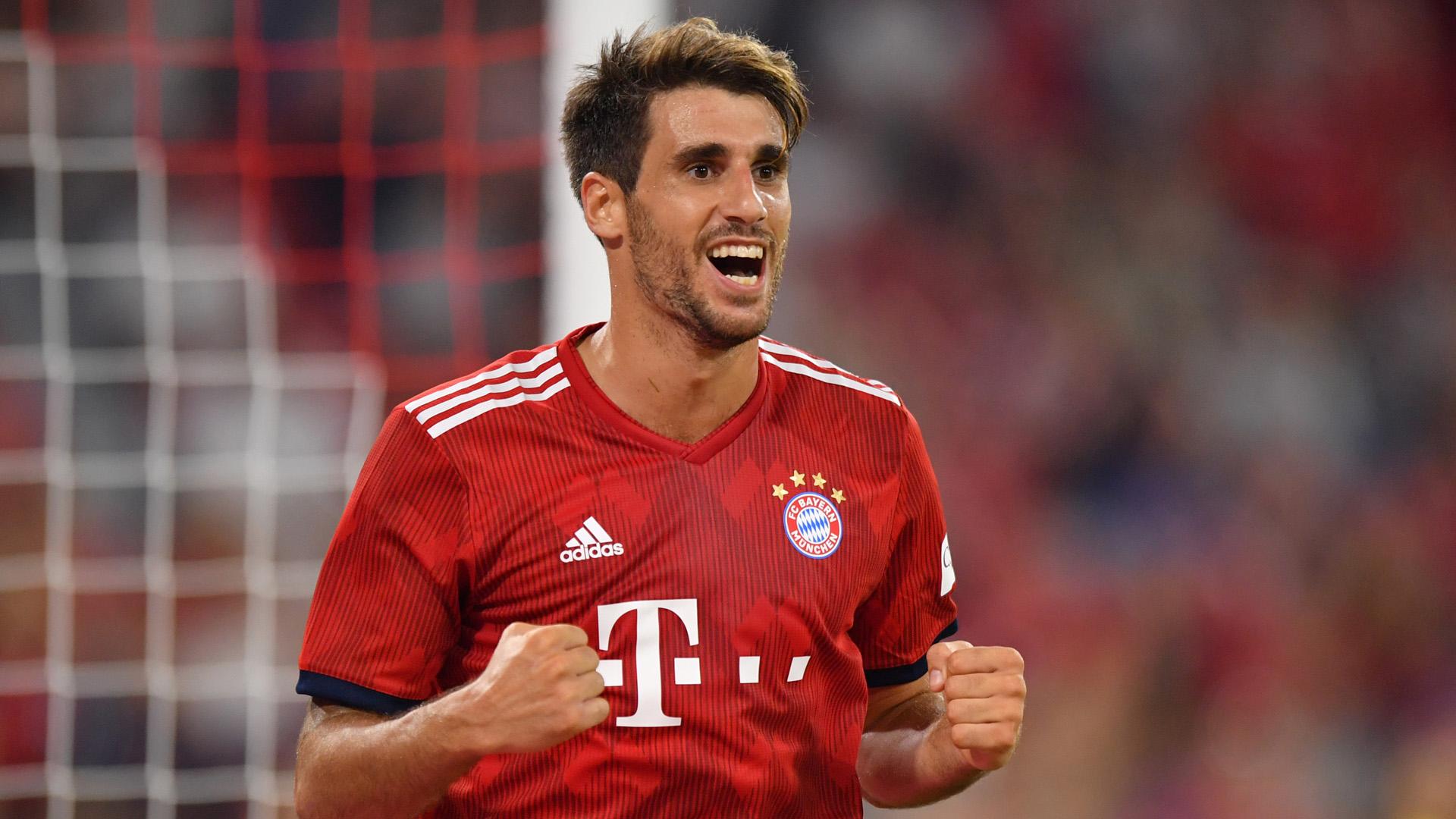 Javi Martinez Bayern München 2018