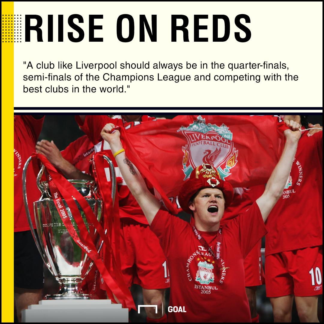 Liverpool Champions League John Arne Riise