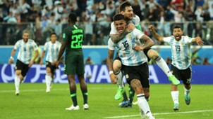 Messi Marcos Rojo Argentina Nigeria World Cup Russi 2018 26062018