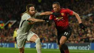 Anthony Martial Kevin Mbabu Manchester United Old Boys Champions League 27112018