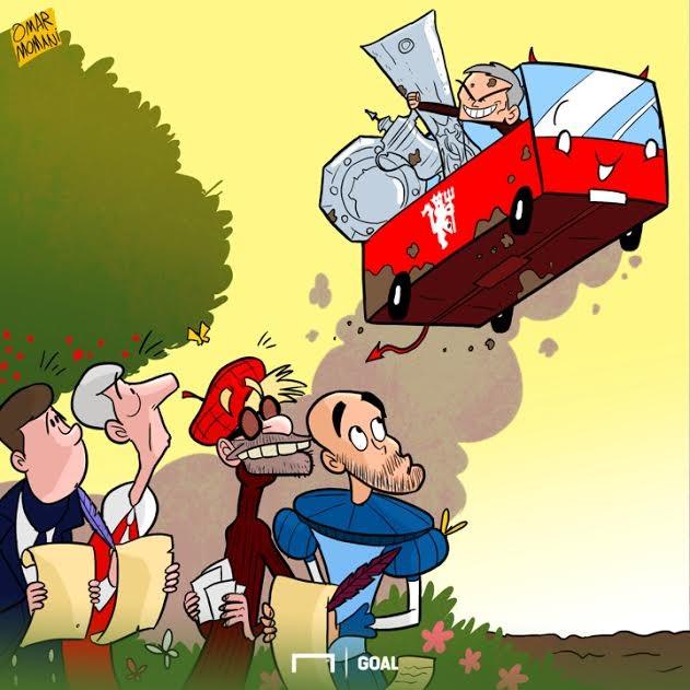 Cartoon Mourinho