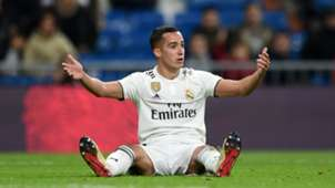 LUCAS VAZQUEZ REAL MADRID RAYO VALLECANO LALIGA