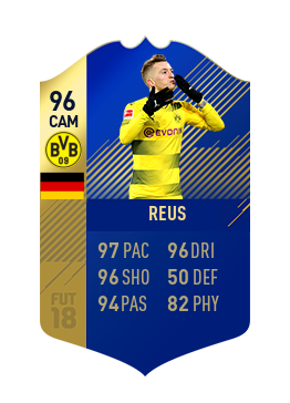 FIFA 18 Bundesliga Team of the Season Marco Reus
