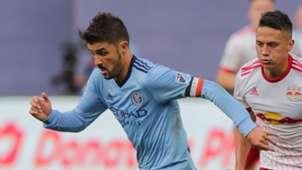 David Villa Sean Davis NYCFC NYRB MLS