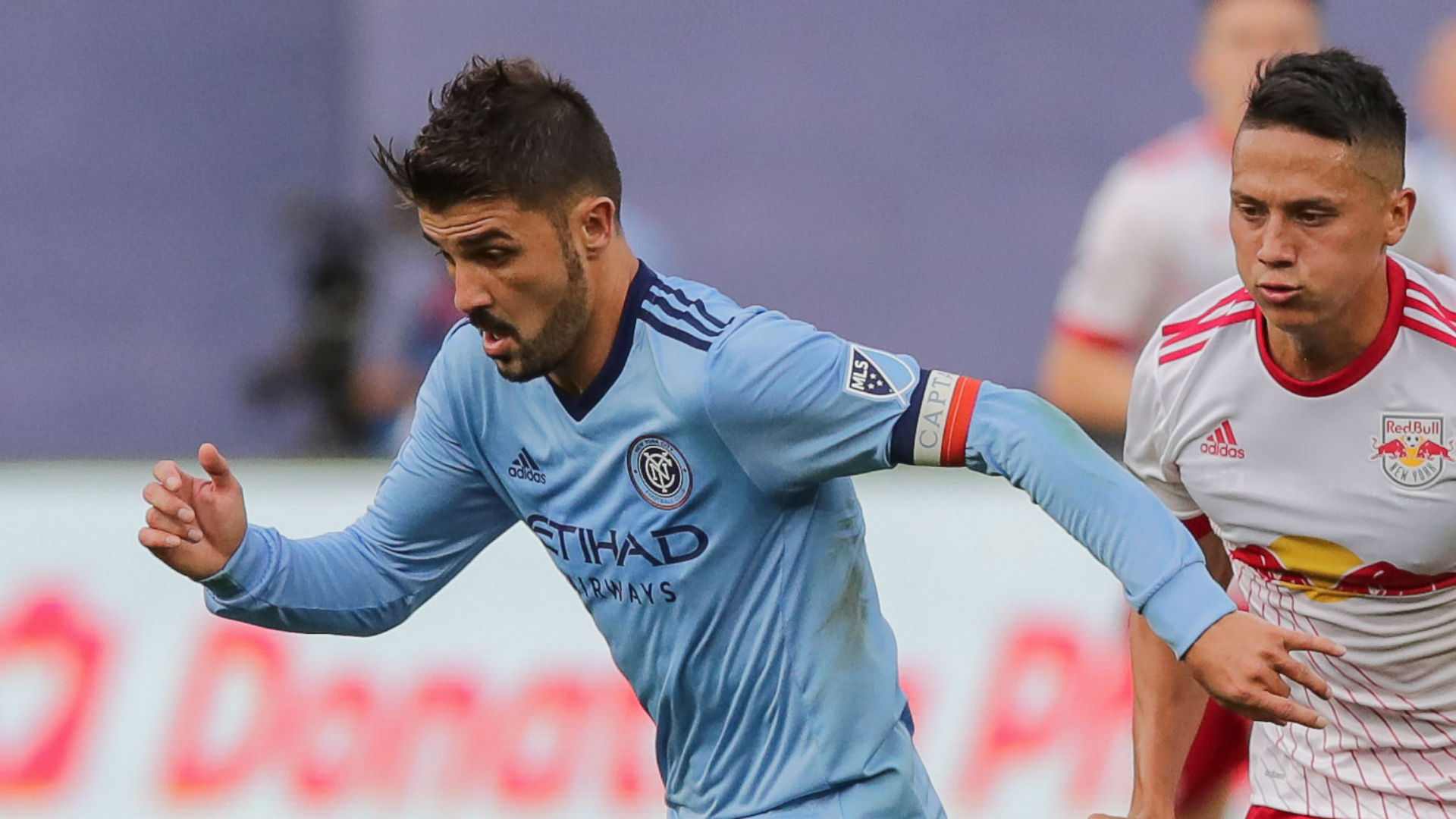 David Villa Sean Davis NYCFC NYRB MLS
