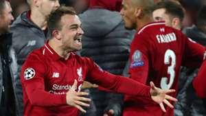 Xherdan Shaqiri Liverpool vs Barcelona Champions League 2018-19