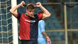 Piatek Genoa Lecce Coppa Italia
