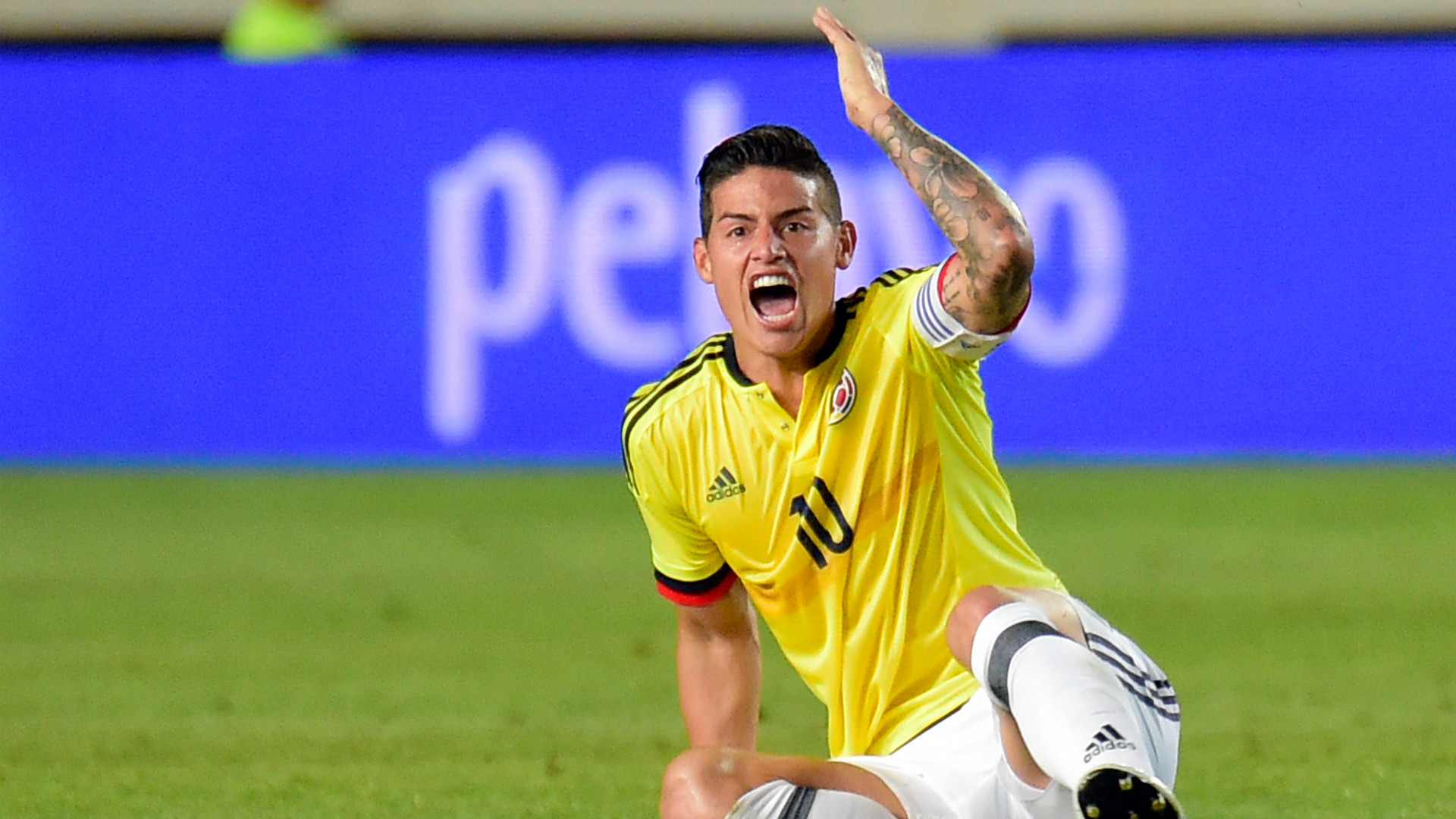 James Rodriguez Spain Colombia Friendly 07062017
