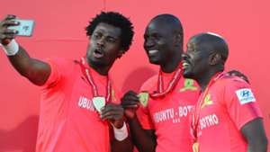 Razak Brimah, Denis Onyango & Kennedy Mweene, Mamelodi Sundowns, May 2018