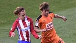 Antoine Griezmann Takashi Inui Atletico Madrid Eibar LaLiga 06052017