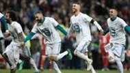 Sergio Ramos Karim Benzema Marcelo Real Madrid 01052018