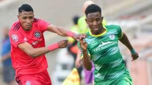 Vincent Pule, Orlando Pirates & Talent Chawapiwa, Baroka FC, September 2018