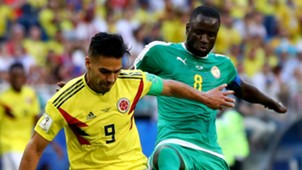 Radamel Falcao Colombia Cheikhou Kouyate Senegal