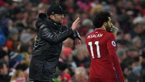 2019-01-19 Mohamed Salah Jurgen Klopp