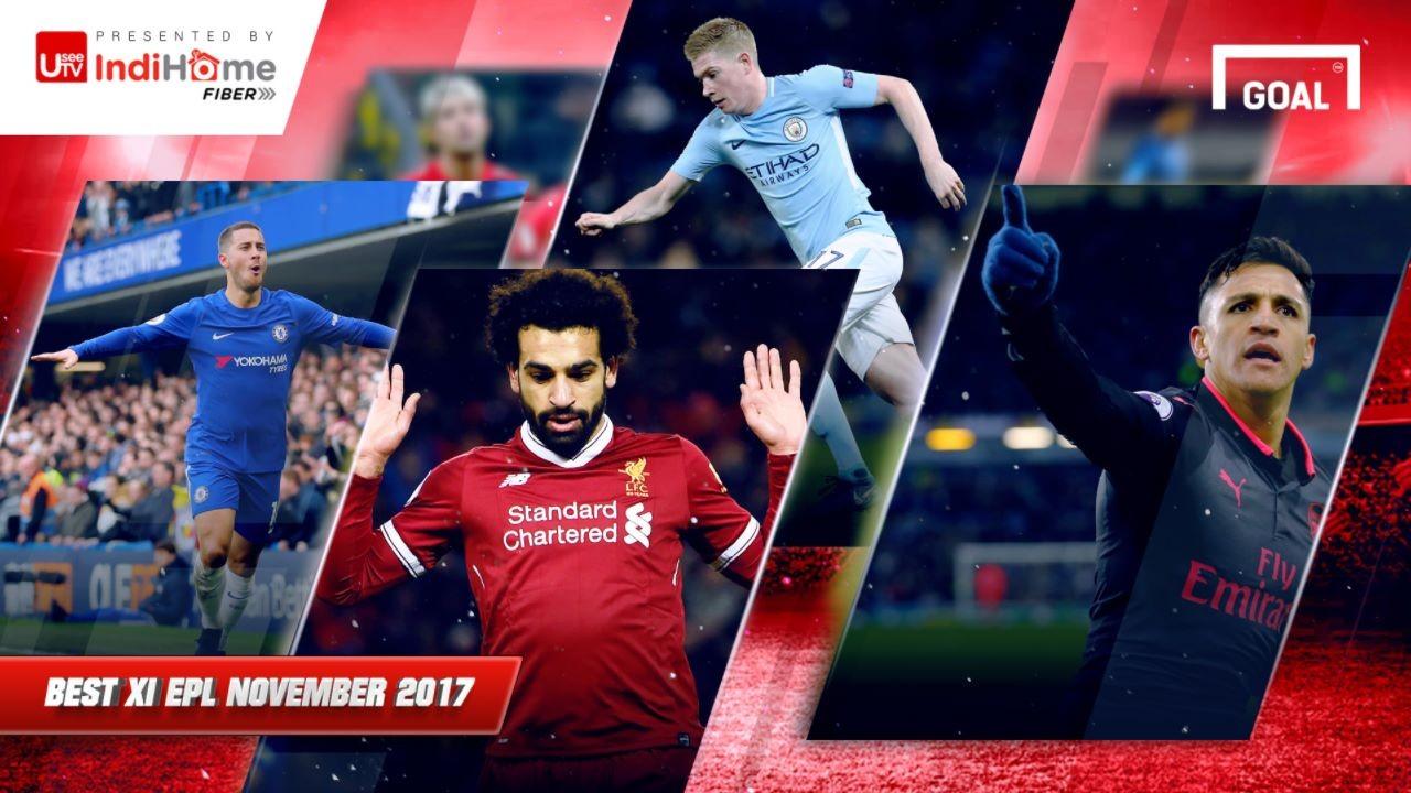 Tim Terbaik Liga Primer Inggris November 2017