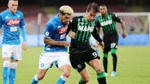 Kevin Malcuit Filip Djuricic Napoli Sassuolo Serie A