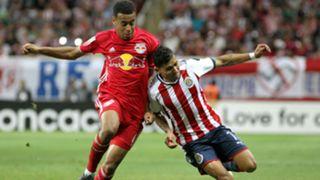 Tyler Adams Orbelin Pineda Club America New York Red Bulls CONCACAF Champions League