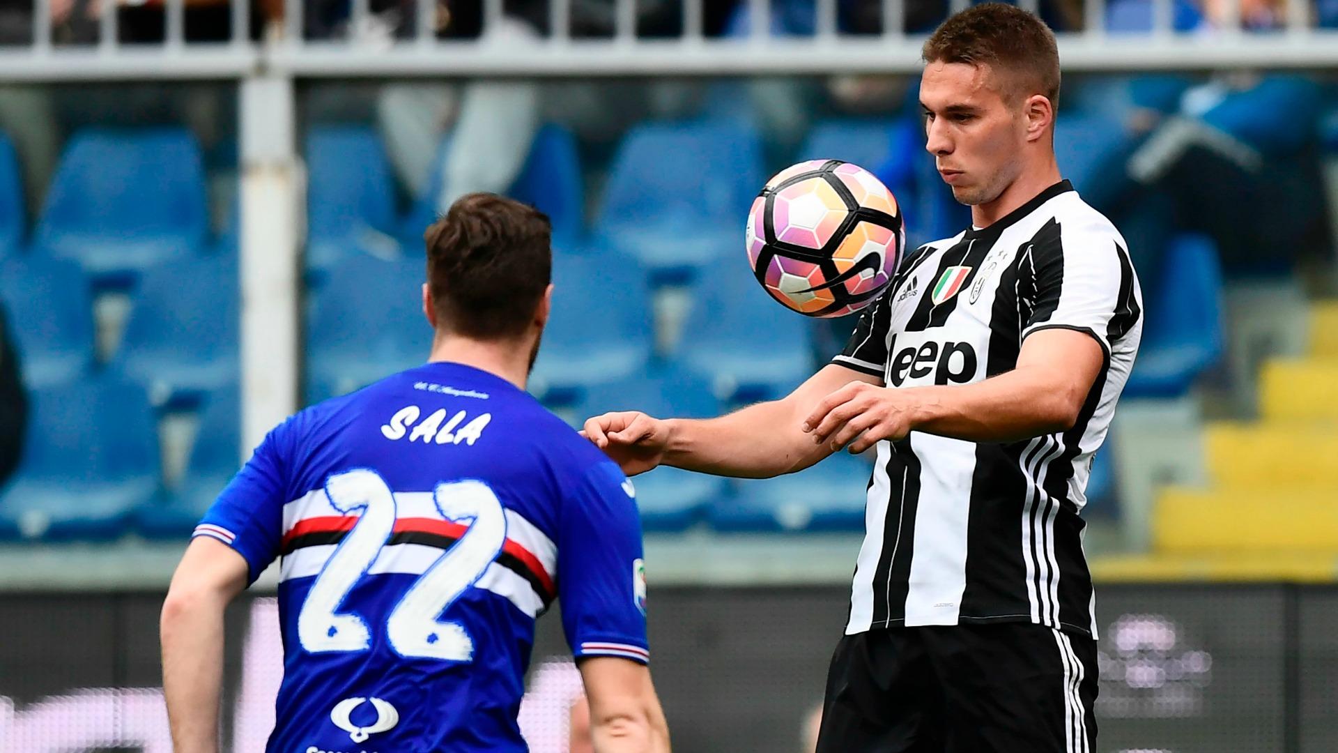 Marko Pjaca Jacopo Sala Sampdoria Juventus Serie A