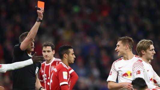 Willi Orban Bayern Munich Leipzig 10282017