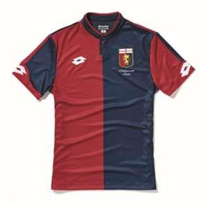 La nuova maglia del Genoa