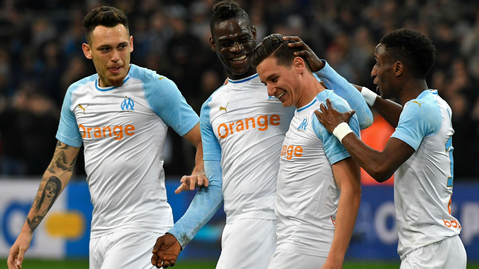 Florian Thauvin Mario Balotelli Marseille Saint-Etienne Ligue 1 03032019