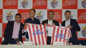 Teddy Sheringham Sanjiv Goenka Ashley Westwood Atletico de Kolkata ISL 4