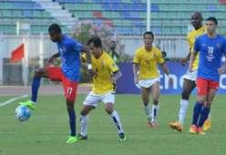 R. Gopinathan Johor Darul Ta'zim Set Phyo Wai Magwe AFC Cup 07032017
