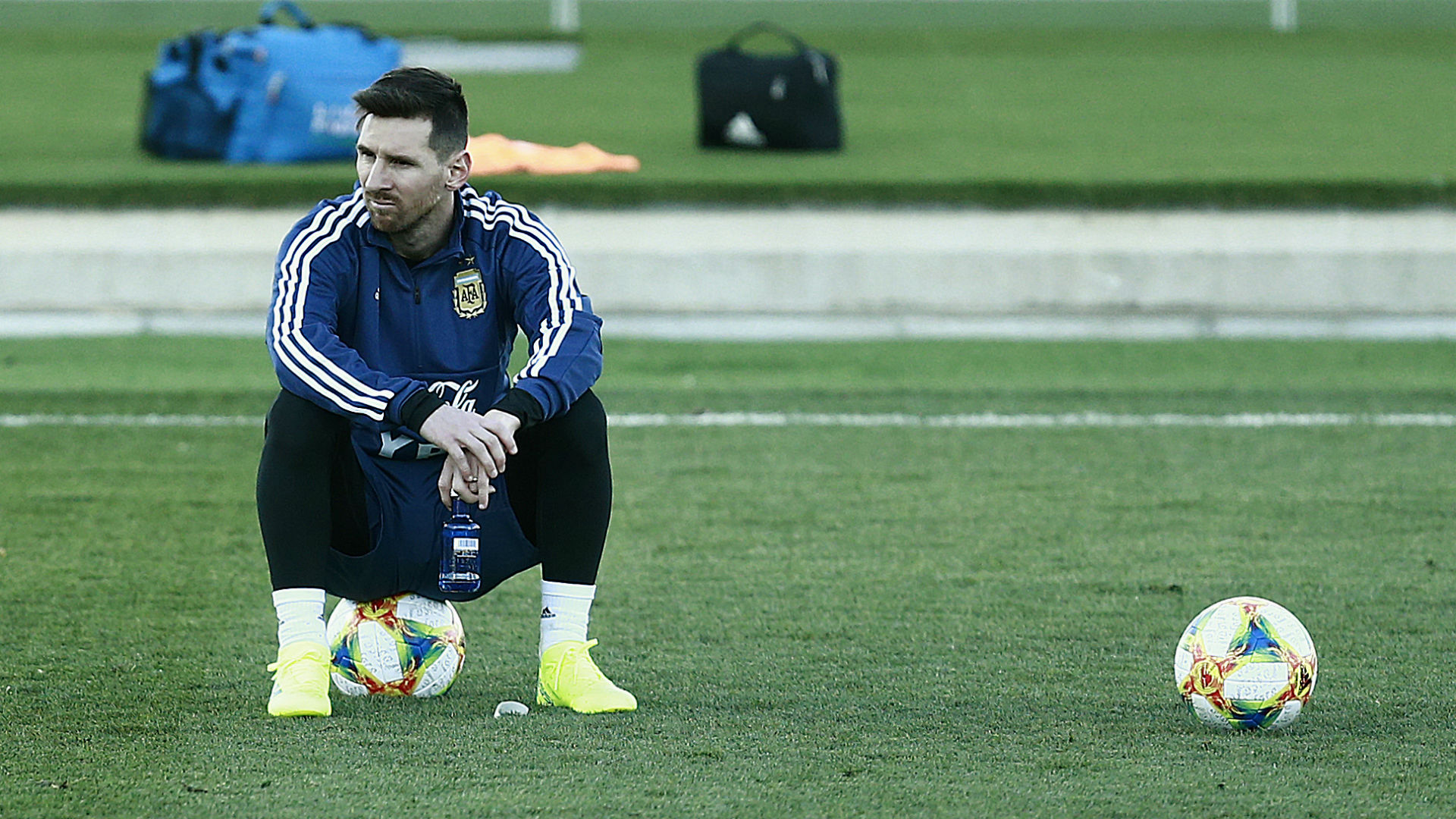 Messi Argentina treino 21 03 2019