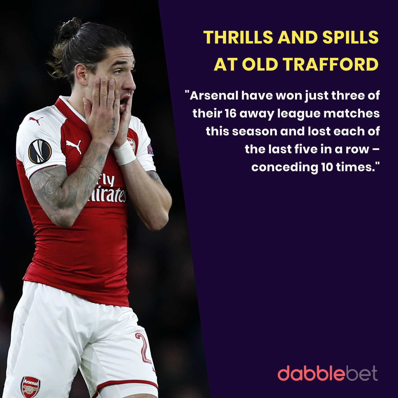 Man United Arsenal graphic