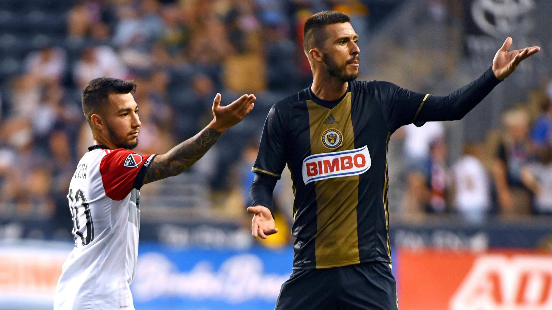 Luciano Acosta Haris Medunjanin DC United Philadelphia Union MLS 062417.