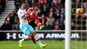 Manolo Gabbiadini Southampton West Ham Premier League 02042017