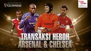 GFXID Transaksi Heboh Arsenal-Chelsea Cover