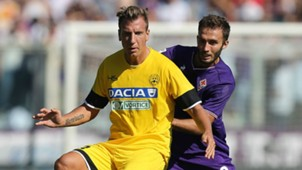 Maxi Lopez, German Pezzella, Fiorentina, Udinese, Serie A, 15102017
