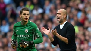 Ederson Pep Guardiola Manchester City Composite