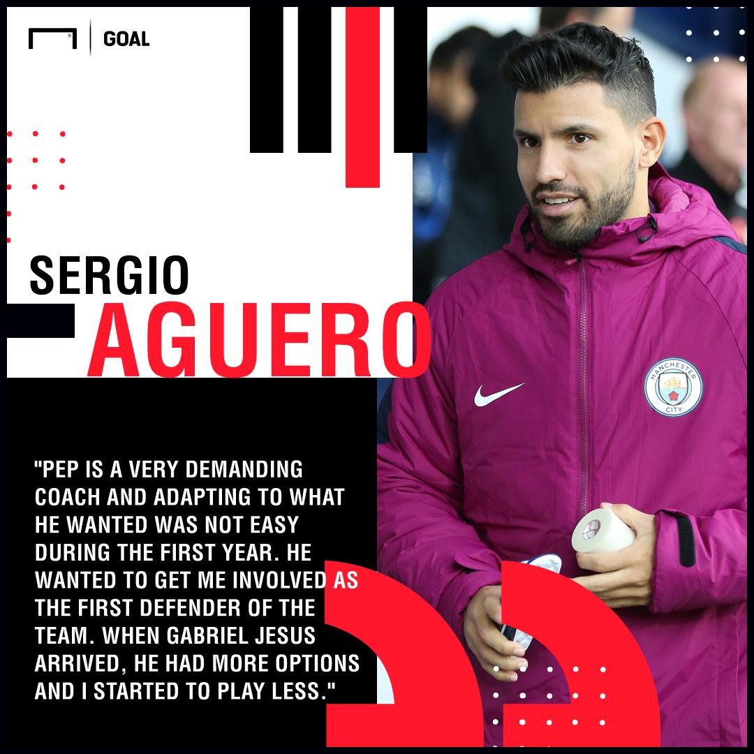 Aguero Guardiola quote