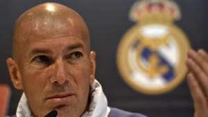 Zinedine Zidane Real Madrid press conference